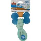 Tfh Publications/Nylabone - Puppy Chew Freezer Bone Toy With Washcloth - Peanut Butter - Puppy