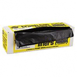 Warp Brothers - Industrial Strength Trash Can Liners - Black - 33 Gal/100 Bags