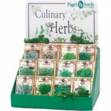 Page Seed - Page'S Premium Culinary Herb Counter Display - 250 Pc