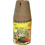 Jiffy/Ferry Morse Seed - Jiffy - Pots Round Seed Starters - Brown - 3 Inch/10 Pack