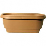 Bloem - Bloem Deck Rail Planter - Chocolate - 24 Inch