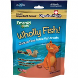 Emerald Pet Products - Wholly Fish Chicken - Free Cat Treats - Salmon Dh - 3Oz