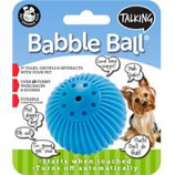 Pet Qwerks - Talking Babble Ball-Blue-Small