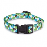 Casual Canine - Patterns Collar Argyle - 6-10Inch - Blue