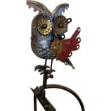 Esschert Design Usa - Metal Mechanical Owl In Flight Rocker