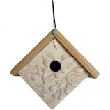 Welliver Outdoors - Welliver Outdoors Carved Raspberry Wren House - Natural