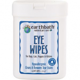 Earthwhile Endeavors - Earthbath Hypoallergenic Eye Wipes - Fragrance Free - 25 Count