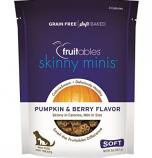 Manna Pro - Fruitables  D - Fruitables Skinny Minis Soft Chew Dog Treat - Pumpkin/Berry - 5oz
