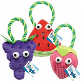 Griggles - Happy Fruit Rope Tug Grape