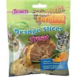F.M. Browns - Pet - Tropical Carnival Natural Orange Slices Sa Treat - Orange - .75 Oz