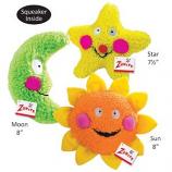Zanies - Smiling Toy Moon - 8Inch - Green