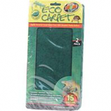 Zoo Med - Eco Carpet Reptile Terrarium Liner - Green / Brown 15 - 20 Gal /2 Pack