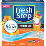 Clorox Petcare Products - Fresh Step Cat Litter - Hawaiian Aloha - 25 Lb