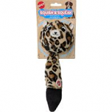 Ethical Dog - Squish & Squeak Leopard - Assorted - 10 Inch