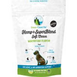 Green Coast Pet - Hemp+ Superblend Soft Chews For Dogs - Whitefish - 3 Oz
