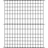 Panacea Products - Multi-Purpose Grid Fence Panel - Black - 42 X 36