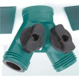 Fiskars  - Watering - Poly Dual Shut-Off Connector