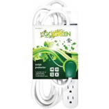 Gogreen Power - Surge Protector - White - 6-Outlet