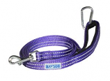 BayDog - Pensacola Leash- Violet - 6 Feet