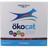 Healthy Pet - Litter - Okocat Natural Wood Clumping Cat Litter-12 Pound