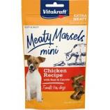 Vitakraft Pet - Meaty Morsels Mini Dog Treat - Beef/Carrot - 1.69 Oz
