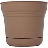 Bloem - Bloem Saturn Planter - Chocolate - 7 Inch