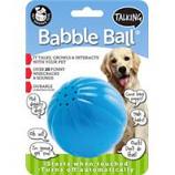 Pet Qwerks - Talking Babble Ball-Blue-Large