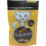 Petiq - Delightibles Center-Filled Cat Treats - Chicken - 3 Oz