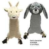 Zanies - Farm Folks 4Pack Sheep