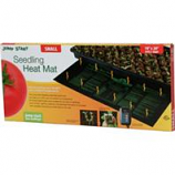 Hydrofarm Products - Seedling Heat Mat - Black - 9X19.5 Inch