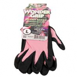 Lfs Glove P - Wonder Grip Nearly Naked Garden Gloves - Assorted - Large