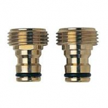 Melnor - Brass Male Quick Connector - Brass - 5 Inch