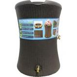 Good Ideas - Impressions Willow Rain Barrel - Dark Brown - 60 Gallon