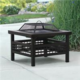 Hookery - Fire Pit Sonoma - Black - 27 Inch