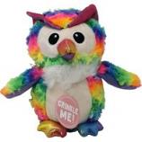 Snugarooz - Snugz Hootie The Owl - Rainbow - 10 Inch