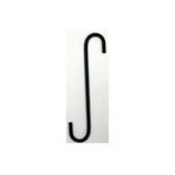 Hookery - S Hook - Black - 8 Inch