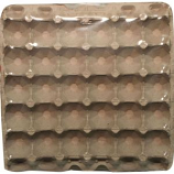 Miller Mfg - Egg Flats (5 X 6- 12 Per Package) - Gray  - 12 Pack 5X6