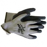 Boss Manufacturing -Men S Therm Plus Acrylic Lining Latex Palm Glove-Gray-Extra Large