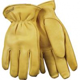 Kinco International-Lined Grain Deerskin Glove-Tan-Medium