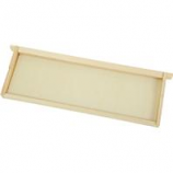 Miller Mfg  - Little Giant 5-Pack Medium Hive Replacement Frame - Natural PInchese - Medium/5 Pack