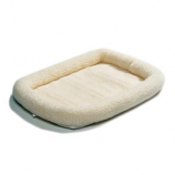 Midwest Container-Beds - Quiet Time Sheepskin Bed - White - 36X23 In