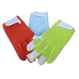 Boss Manufacturing -Ladies Goatskin Leather Palm Glove W/ Spandex Back-Assorted-One Size
