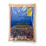 Caribsea - Dry Aragonite Aragamax Sugar Sized Sand - Tan - 30 Pound