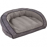 Petmate - Beds - Lazyboy Harper Sofa Bed - Smoke Twill - 43X35