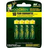 Gogreen Power - Alkaline Battery - Aa/4 Pack