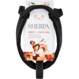 Quaker Pet Group - Sherpa Dog Harness With Built In Leash - Black - X Large