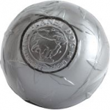 Planet Dog - Usa Diamond Plate Super Tuff Ball Dog Toy - Gray - 3 Inch