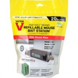 Woodstream Victor Rodent - Refill For Mouse Bait Station - 20 Count