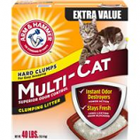 Church & Dwight - Arm & Hammer Multi - Cat Clumping Litter - Fresh Scent - 40 Pound