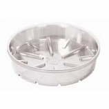 Bond Manufacturing - Plastic Saucer-Clear-8 Inch